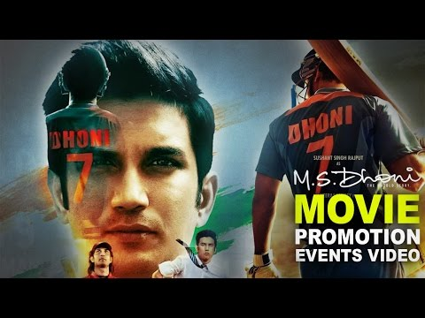 MS Dhoni (2016) Promotion Events Full Video | Sushant Singh, Disha