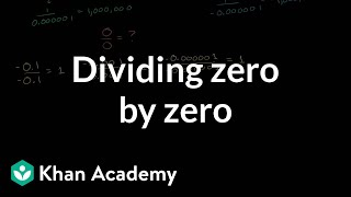 Why zero divided by zero is undefined/indeterminate | Algebra II | Khan Academy