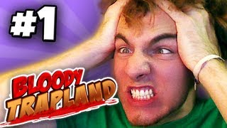 THIS GAME HURTS MY BODY! - Bloody Trapland Co-op ~ Part 1