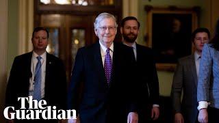 Trump impeachment: Senate leaders make speeches before final vote
