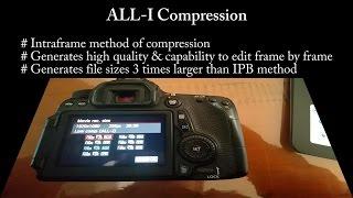 ALL-I vs IPB in Film-making / EXPLAINED