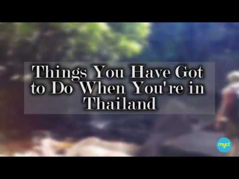 Your Next Travel Destination - Thailand!