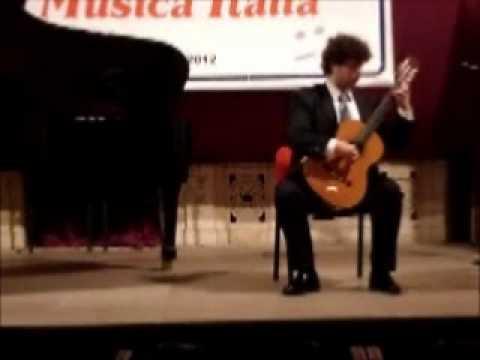 Ruggiero Tatò – Sonatina MS 85 n.1 ( Niccolò Paganini)