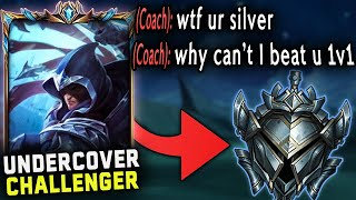 I hired a Gold coach and pretended to be a Silver Talon Main