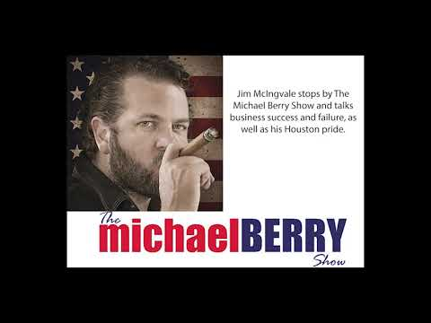 Michael Berry - Houston Icon, Jim McIngvale, in Studio 1-17-19