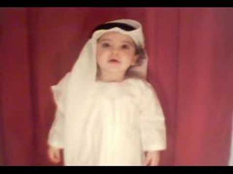 Mohammed dancing on Rashed al majid song