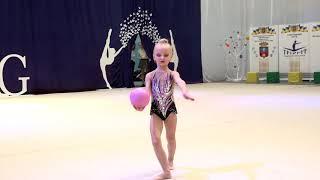 Цеханова Ярослава 2012 мяч