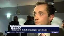 Reportage sur la résistance du FN à la future mosquée de Canteleu
