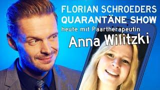 Die Corona-Quarantäne-Show vom 12.06.2020 mit Florian Schroeder und Paartherapeutin Anna Wilitzki