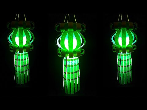 DIY-Aakash kandil/Paper Lantern for Diwali/Christmas Decorations Ideas|Aakash kandil Making ideas