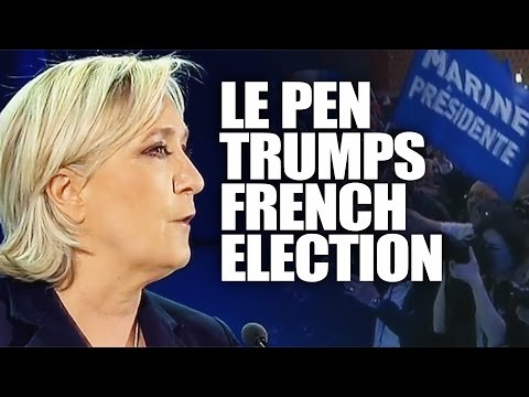 FRANCE ELECTION: LE PEN IN TRUMP-STYLE 1ST ROUND WIN