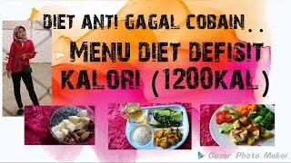 Diet Anti Gagal, Cobain Menu Diet 1200 Kalori.