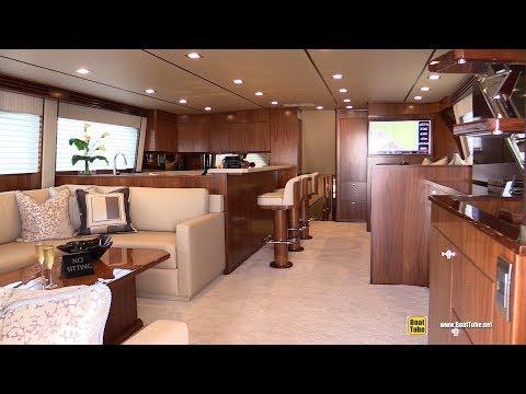 2019-viking-80-enclosed-bridge-fishing-boat---walkaround---2019-miami-yacht-show