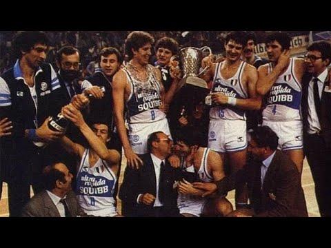 [1982] FIBA European Champions Cup Final: Squibb Cantu Vs Maccabi Tel Aviv