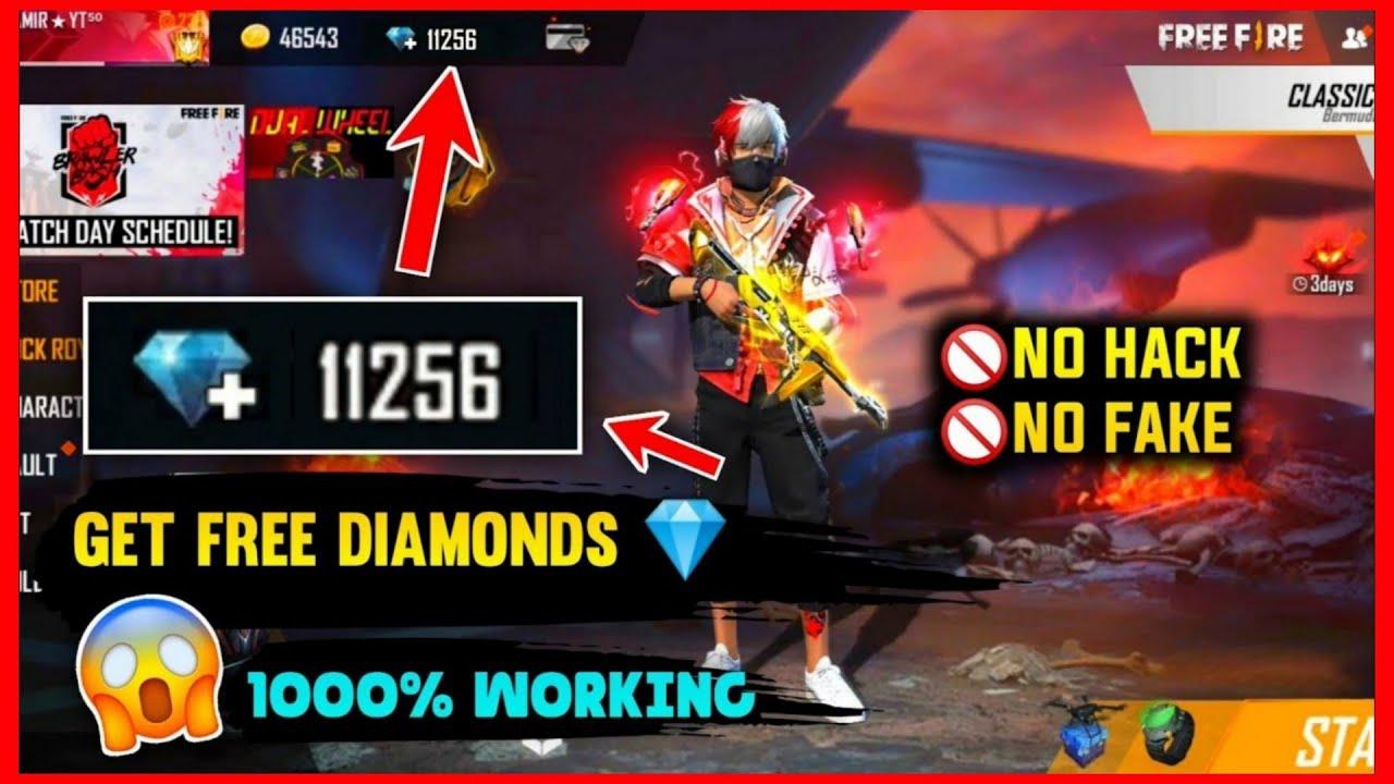 NEW TRICK! FREE 😍 DIAMONDS IN FREE FIRE REDEEM CODE TODAY ...