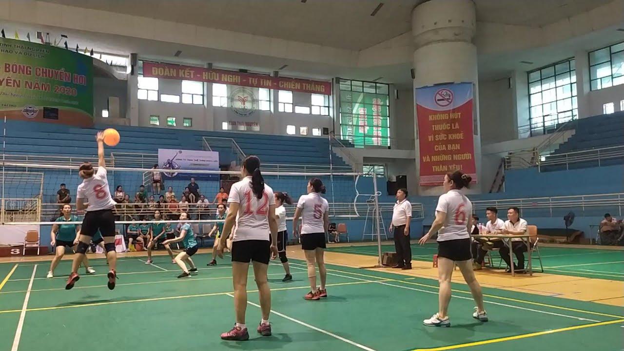 Bán kết bóng chuyền hơi nữ (Võ nhai - Việt Bắc) Séc 2, Giải Bóng chuyền hơi Thái Nguyên