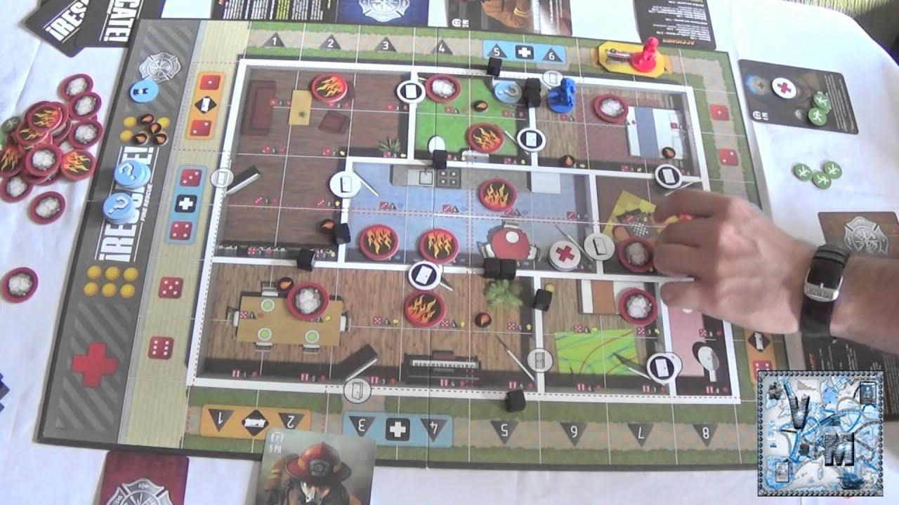 Rescate juego de mesa gameplay youtube for Viciados de mesa