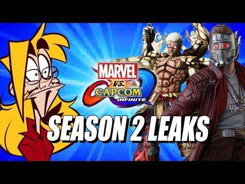 LEAKY NOVEMBER: Season 2 Roster/Modes - Marvel Vs Capcom Infinite