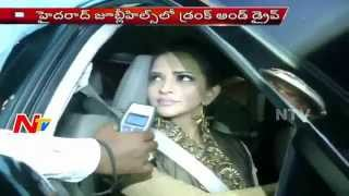 Actress Manchu Lakshmi Drunk and Drive Test | Drunk and Drive Counselling