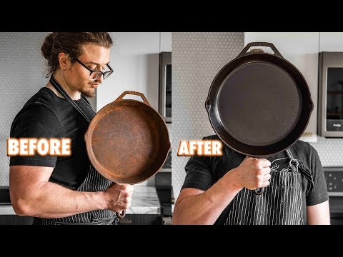 The Easy Guide On Seasoning and Restoring Cast Iron