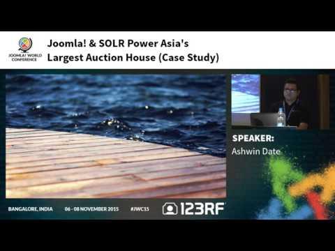 JWC15 - Joomla & SOLR power Asia's largest auction house