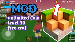 block craft mod apk unlimited gems and unlimited gold