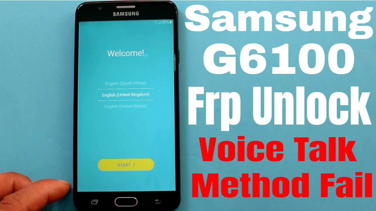 Samsung G6100 Bypass Frp Voice Assistant Method Failed Solution Without  Combination File