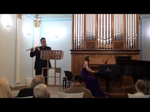 В.А.Моцарт Соната A-dur K.526 2 часть (перелож. для флейты и фортепиано)/W.A.Mozart Sonata A-dur