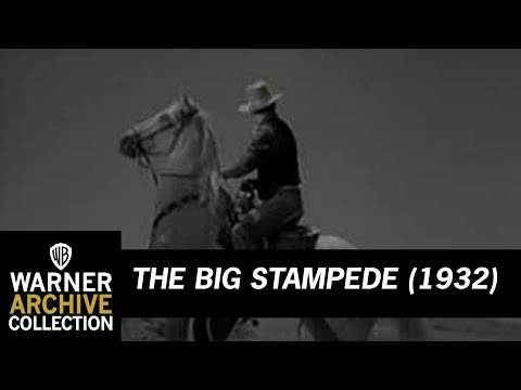 The Big Stampede (1932) – Now Get Out Of Here!