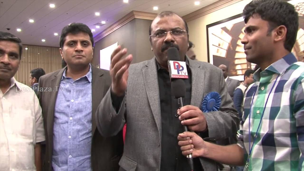 Ajay Reddy  from  Dallas speaking to Desiplaza TV at ATA Convention 2016.
