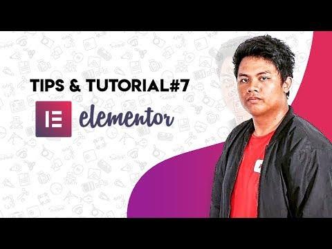 (HOW TO) desain simple website [speed art] Elementor Wordpress - TIPS & TUTORIAL#7 thumbnail