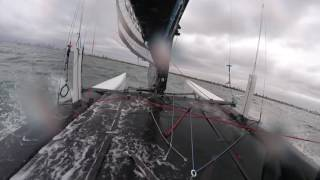 Cirrus R F18 - One lap with Chris and Tom
