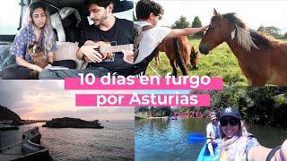 10 días en furgo por Asturias: Descenso del sella, Tierra Astur, Cudillero | VLOG | Pati Petite