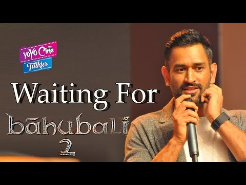 MS Dhoni About Baahubali Movie & South...