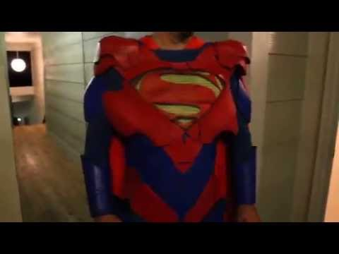 Superman costume cosplay injustice alternate suit & Superman costume cosplay injustice alternate suit - YouTube