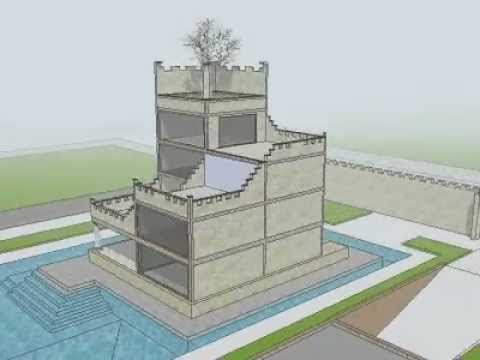 Architecture fortified house design by marinescu for Fortified home plans