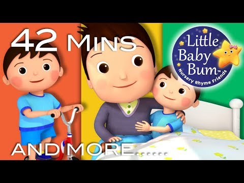 Diddle Diddle Dumpling, My Son John | Plus Lots More Nursery Rhymes | 42 Mins from LittleBabyBum!