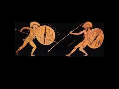 Iliad - Libro terzo, parafrasi versi 1-101