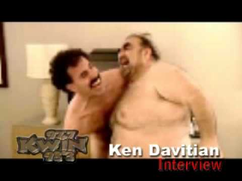 Borat fighting naked guy, lesbian shoe in ass