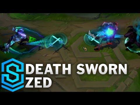 Death Sworn Zed Skin Spotlight - League of Legends