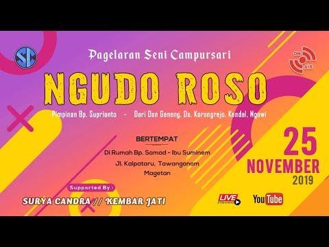 Live Streaming Campursari NGUDO ROSO - Pernikahan Sri Nuri H. & Agung Soni A. - 25 November 2019