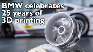 BMW Celebrates 25 Years Of 3D Printing