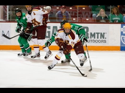 Gopher Hockey scores twice in 3rd to beat UND