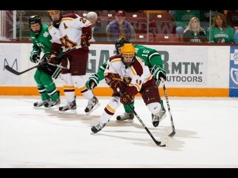 Gopher Hockey Scores Twice In 3rd To Beat UND