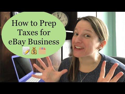 How To Do Taxes For EBay Or Online Business