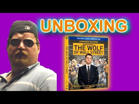The Wolf Of Wall Street Blu-Ray Unboxing