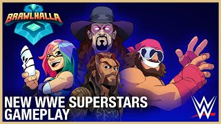 Brawlhalla: WWE New Superstars Gameplay | Ubisoft [NA]
