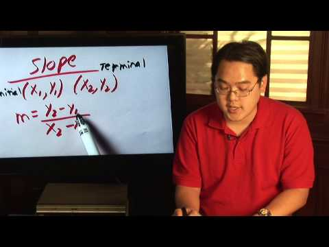 Geometry Tips : How To Calculate Slope