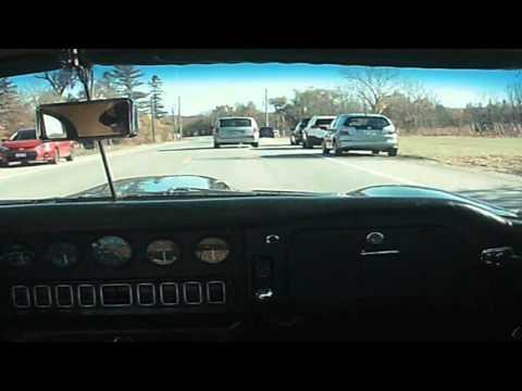 Driving an E-type Jaguar on the Niagara Escarpment
