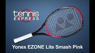 Yonex EZONE Lite Smash Pink Racquet Review | Tennis Express